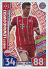 2017-18 Topps Match Attax Champions League Hot Shot Robert Lewandowski Bayern München