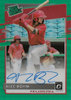2020 Donruss Optic Rated Prospects Signatures Green #7 Alec Bohm AUTO !!! 2/5 !!! Phillies!